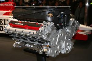 McLaren Honda F1 engine