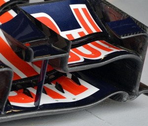 Red Bull Racing front wing for the Canadian Grand Prix
