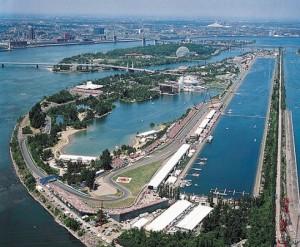 Canadian Grand Prix Circuit Gilles Villeneuve