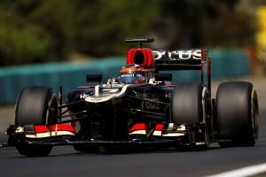 Kimi Raikkonen, Lotus, at Hungarian GP