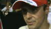 Felipe Massa after qualifying at Singapore