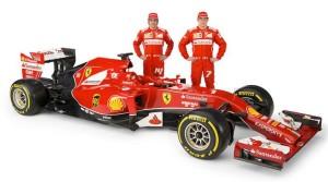 The Ferrari F14-T