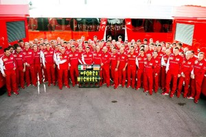 Messages of support for Schumacher