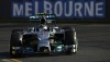 Mercedes driver Nico Rosberg in FP3, Australia