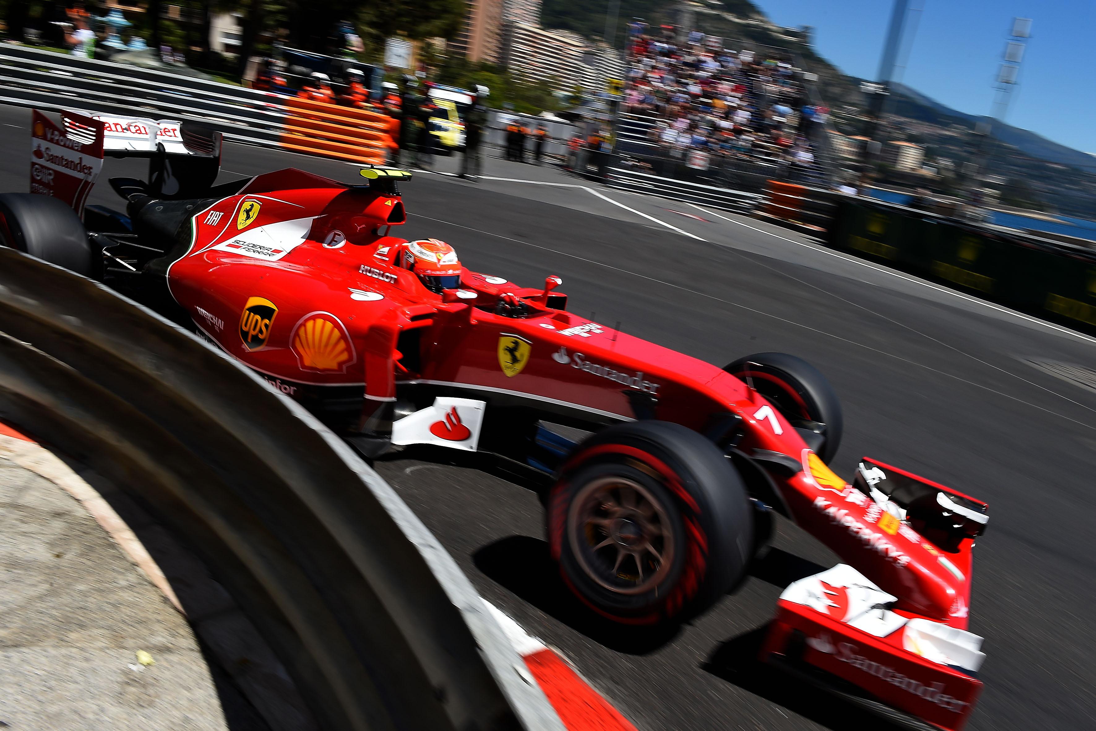 Kimi Raikkonen, Ferrari, Monaco
