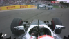 Felipe Massa rolls out of the German Grand Prix at Hockenheim