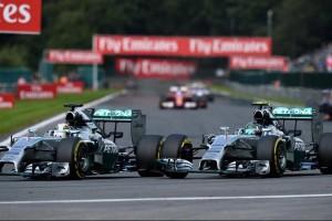 Hamilton_Rosberg_Spa 2014_LesCombes