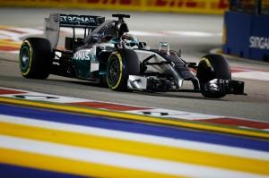 Lewis Hamilton Singapore 2014