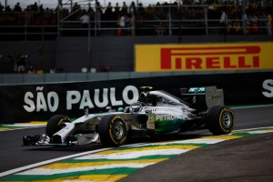 Nico Rosberg_Brazil 2014