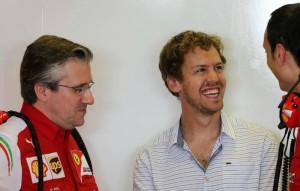 Sebastian Vettel Abu Dhabi Test_ Ferrari
