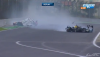 Mark Webber WEC crash Interlagos