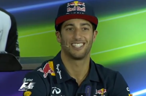 Daniel Ricciardo, Red Bull Racing - Australian GP Thursday drivers press conference