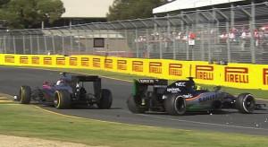 Australian Grand Prix, Jenson Button vs Sergio Perez
