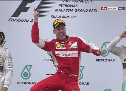 Sebastian Vettel wins the Malaysian GRand Prix