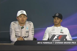 Nico Rosberg very unhappy with Lewis Hamilton