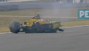 Narain Karthikeyan crash 2005 Chinese GP