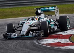 Mercedes at the F1 Malaysian Grand Prix - Image credit: Mercedes AMG F1