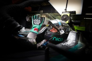 Mercedes driver Nico Rosberg at the F1 Malaysian Grand Prix - Image credit: Mercedes AMG F1