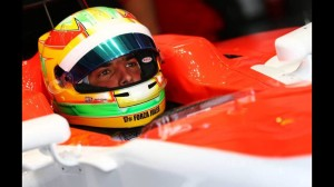 Roberto Merhi for Manor F1 at the 2015 Formula One Malaysian Grand Prix