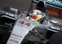 Lewis Hamilton. Free practice, Monaco GP