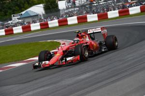 Ferrari Kimi Raikkonen Canadian Grand Prix