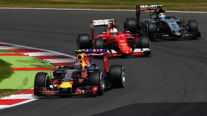 Red Bull Racing at the British Grand Prix
