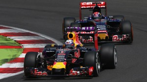 Red Bull Racing, Toro Rosso at the British Grand Prix