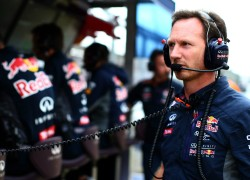 Christian Horner at the British Grand Prix