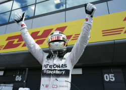 British Grand Prix - Lewis Hamilton