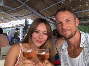 Jenson & Jessica Button.