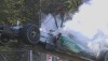 Nico Rosberg retires from the Italian Grand Prix suffering an engine failure.