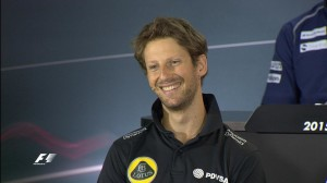 Singapore GP Thursday Press Conference - Romain Grosjean