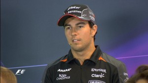 Singapore GP Thursday Press Conference - Sergio Perez