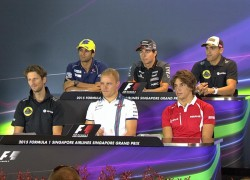 Singapore GP Thursday Press Conference