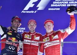 Singapore GP Top 3