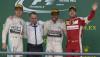 US GP Podium, Lewis Hamilton, Sebastian Vettel, Nico Rosberg