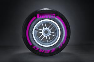 Pirelli F1 tyre - ultra soft