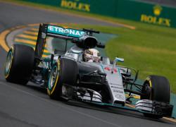 Australia Final Practice Lewis Hamilton
