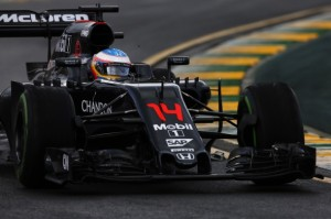 Australian GP Qualifying - McLaren