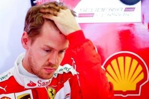 Australian GP Qualifying - Sebastian Vettel, Ferrari