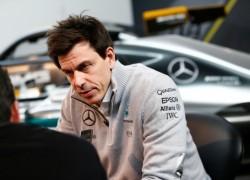 Australian GP F1 Qualifying - Toto Wolff, Mercedes AMG Petronas