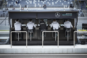Russia 2016_Mercedes Pit Wall