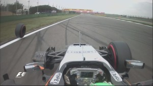 Chinese GP qualifying Hulkenberg