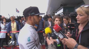 Chinese GP pole qualifying Lewis Hamilton