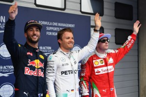 Chinese GP pole qualifying top 3