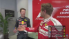 Vettel and Kvyat argue in the Chinese GP #RoomofAwkard