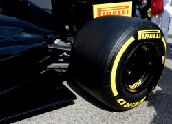 Pirelli unveiled wider F1 tyres for the 2017 season, at Monaco