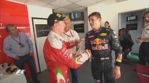 Spanish Grand Prix, Max Verstappen & Kimi Raikkonen
