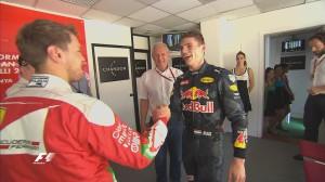 Spanish Grand Prix, Max Verstappen & Sebastian Vettel
