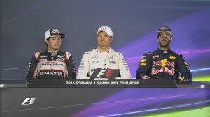 Baku GP Qualifying - Top 3